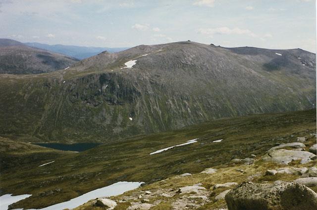 On eastern slopes of Cairngorm