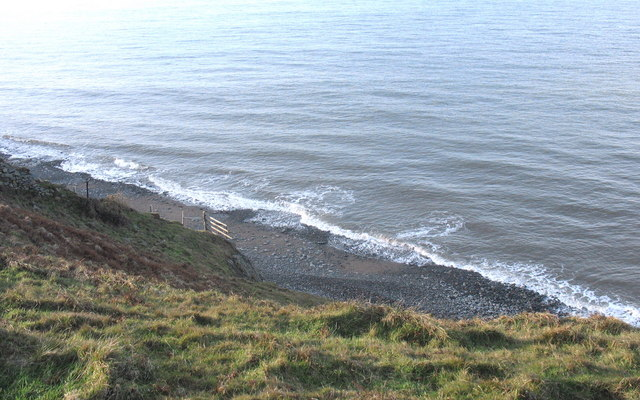 Beach south of Trwyn y Tal