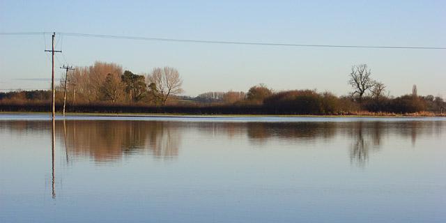The Cherwell floodplain, Cropredy