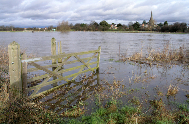 The River Trent - In flood