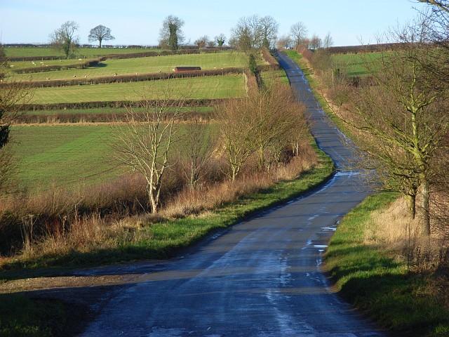 The Cropredy to Mollington road