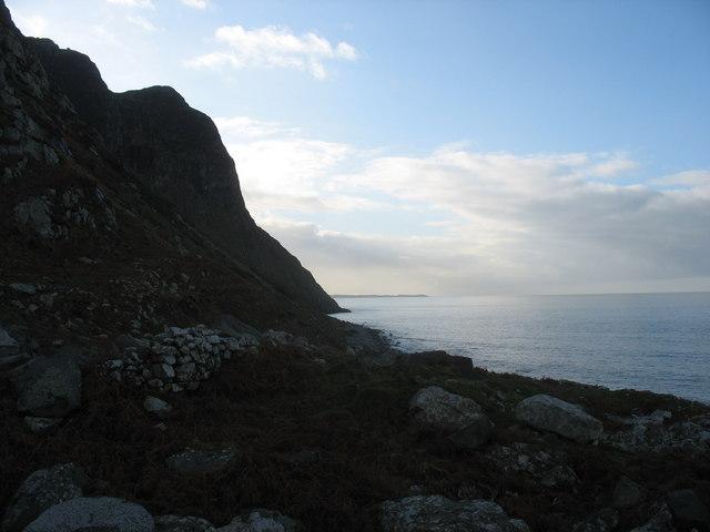 View towards Y Gorlech, with Trwyn Porthdinllaen in the background