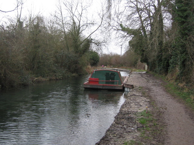 Barge for canal repairs