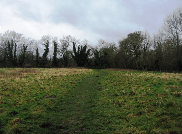 Footpath to Odiham Castle