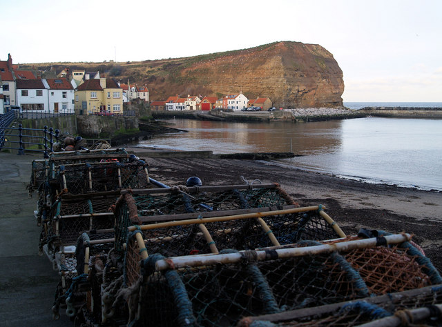 Lobster pots Staithes