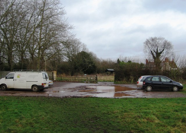 Car park for Odiham Castle