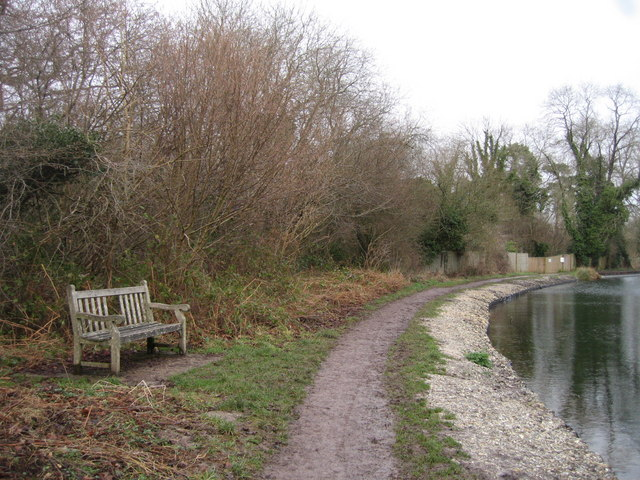 Bench by the canal