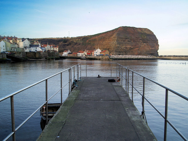 Cownab (cliff) Staithes