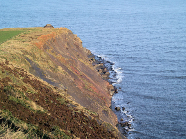 Old Nab from the Cleveland Way footpath