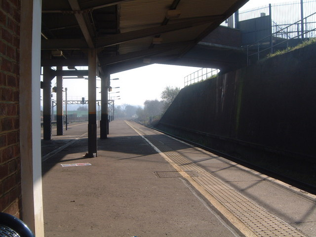 St Mary Cray Station - view from platform