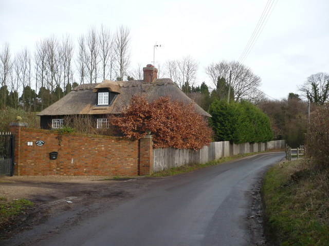 Bullfinch cottage on the lane at Oversland