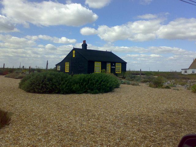 Derek Jarman's cottage, Dungeness