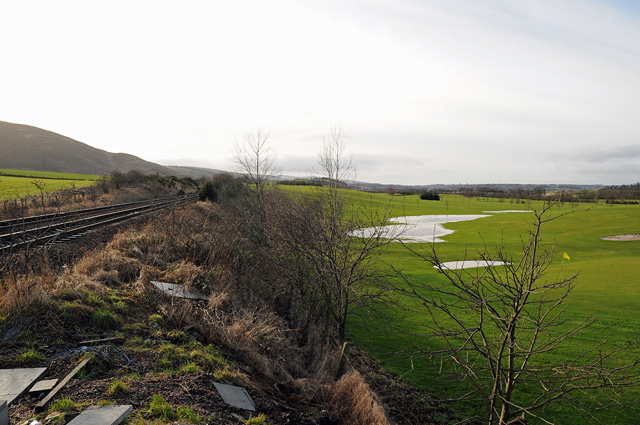 Railway Line and Whitemoss Golf Course