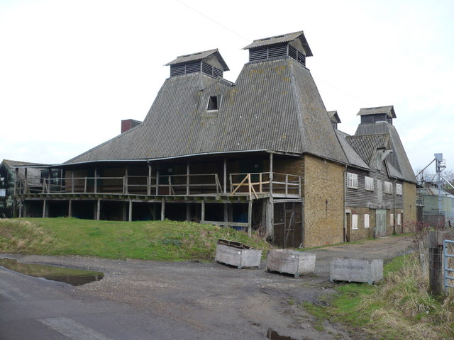 Oast house in Boughton-under-Blean