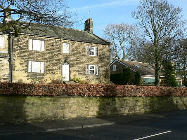 An older house on Layton Road, Rawdon