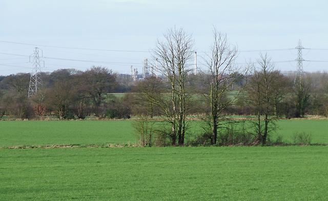 Fields near Shareshill, Staffordshire