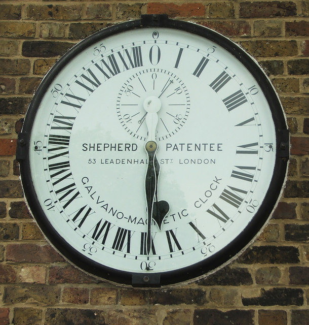 Galvano-Magnetic 24 Hour Clock, Royal Observatory, Greenwich