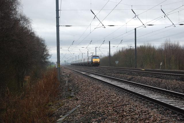 Railway Mainline towards Northallerton