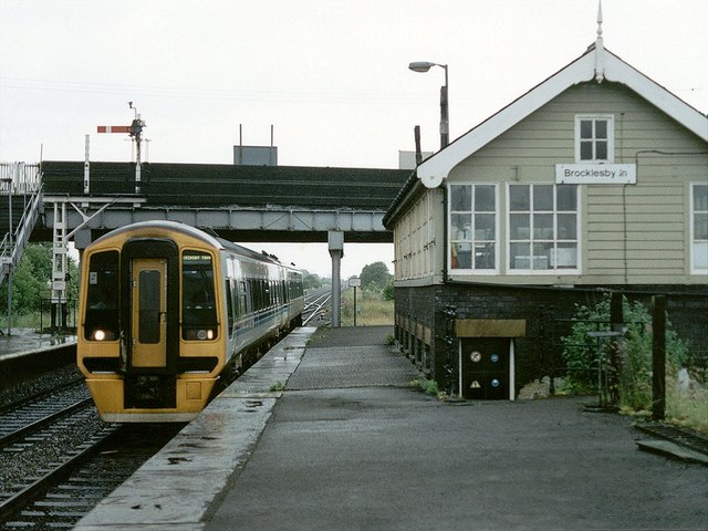 Railway Station, Brocklesby