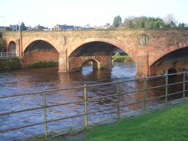 St. Michael's bridge, Dumfries