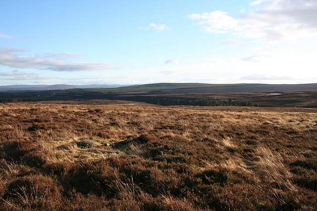 To the east from Carn Maol