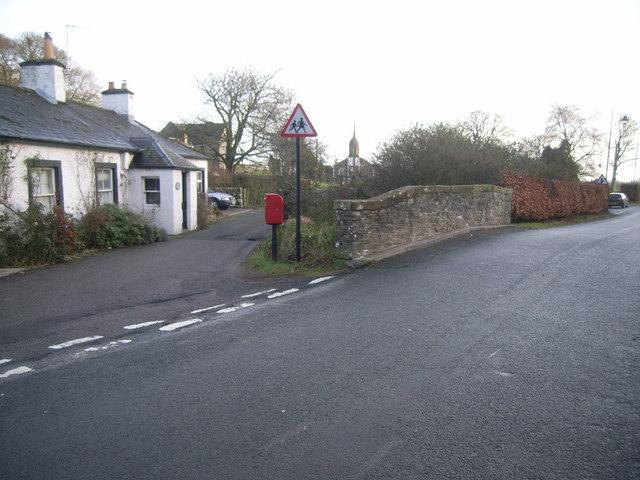 Kirkbean road junction