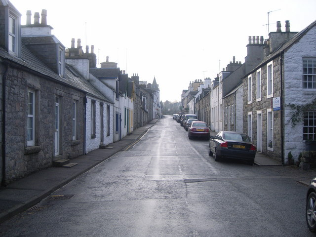 New Galloway - Looking up the high street