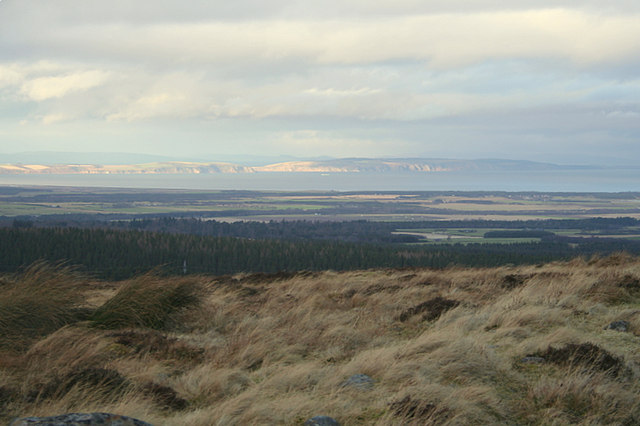 The slopes of Carn Maol towards the Black Isle