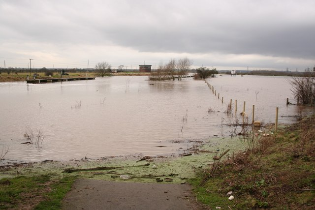 River Trent in flood