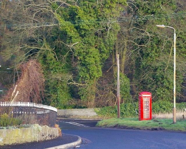 Telephone Box at Burnside of Duntrune