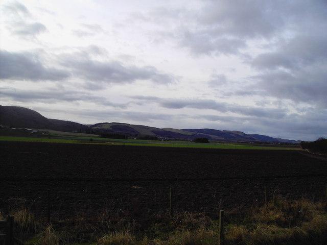 Dron Hill (Ochills )from Abernethy