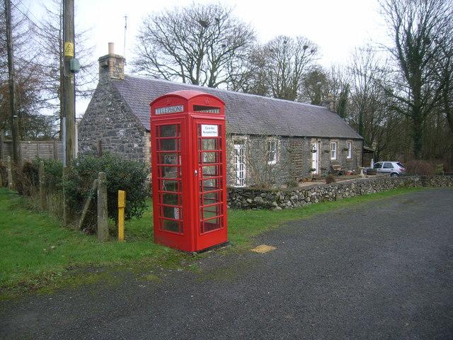 Spittal Telephone Box