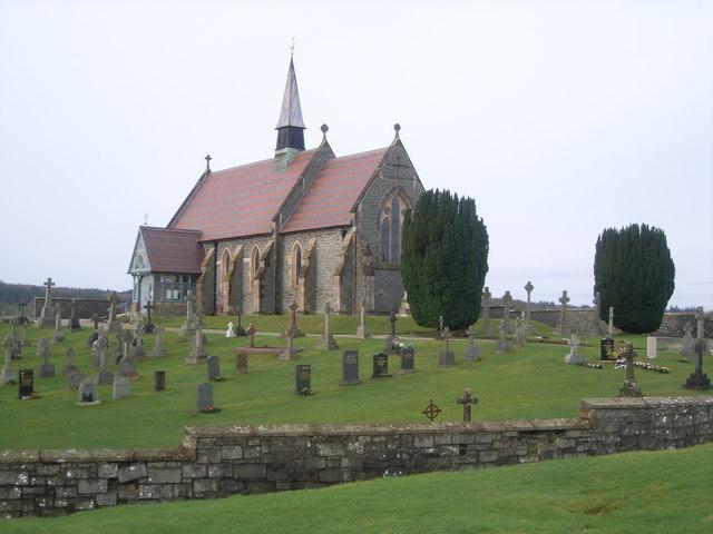 Challoch Church in Winter