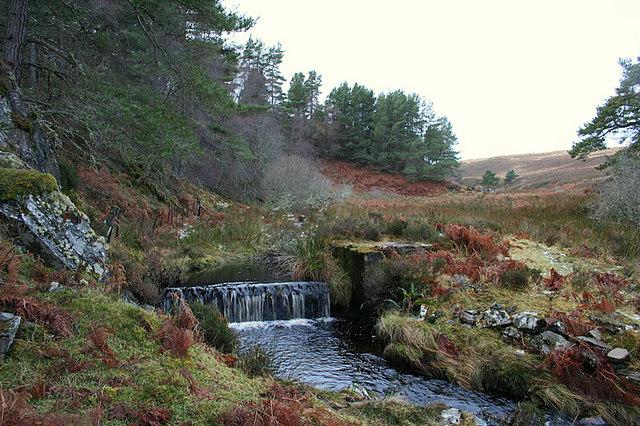 Weir on Cose Burn