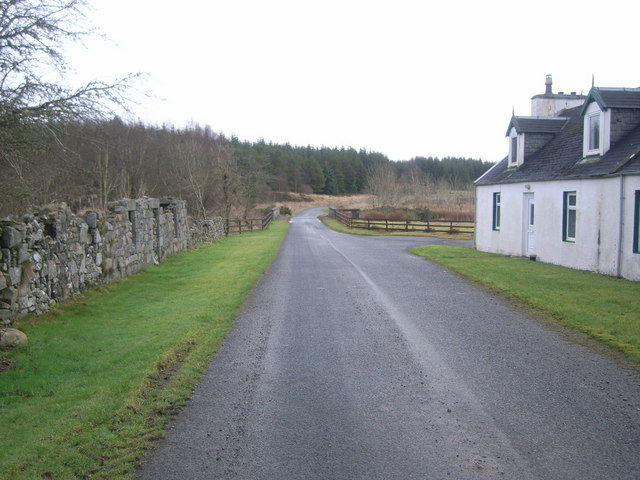 Looking out of Knowe village