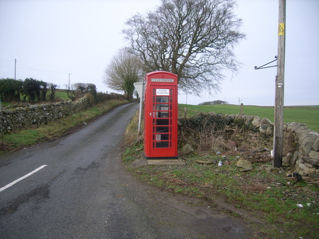 Causeway End Telephone Box