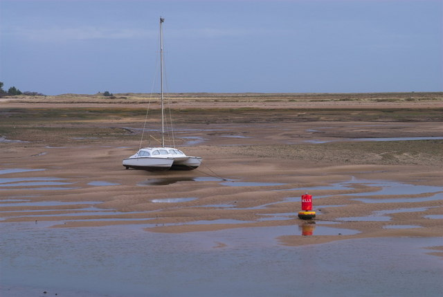 Low Tide at Wells-Next-The-Sea