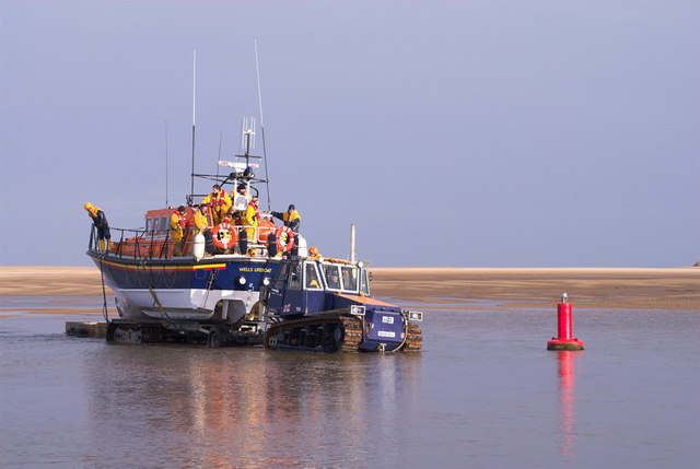 Wells-Next-The-Sea Lifeboat Coming Home
