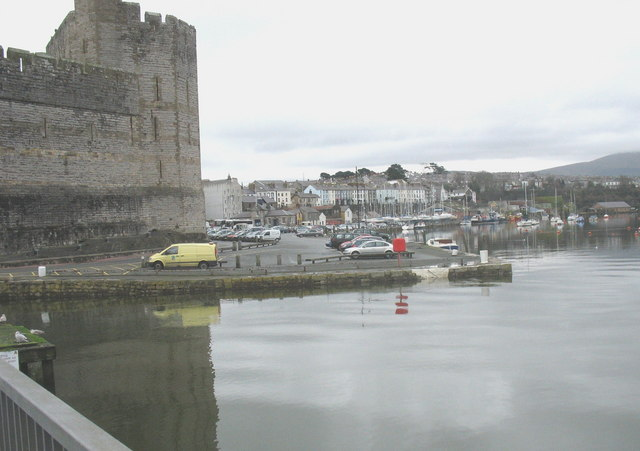 The Slate Quay at high water