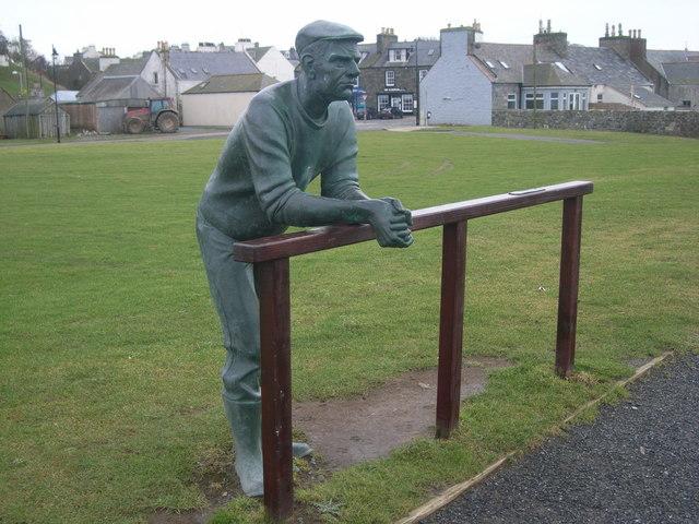 Sculpture in Port William