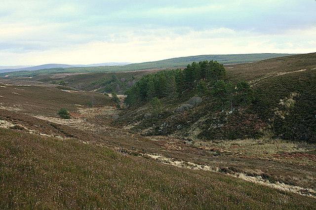 Eastwards through the Glen of  Caochan a Ghaid