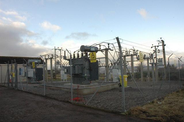 Substation at Muirton