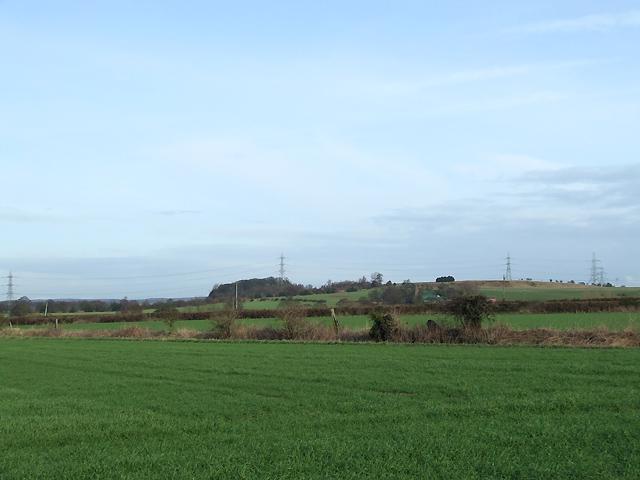 Farmland, north of Shareshill, Staffordshire