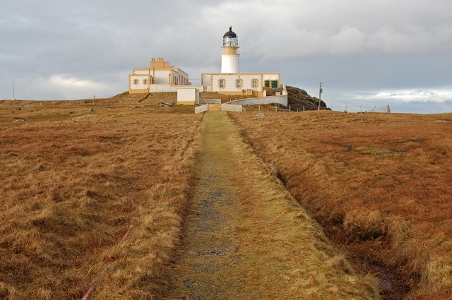 Track to Neist Lighthouse