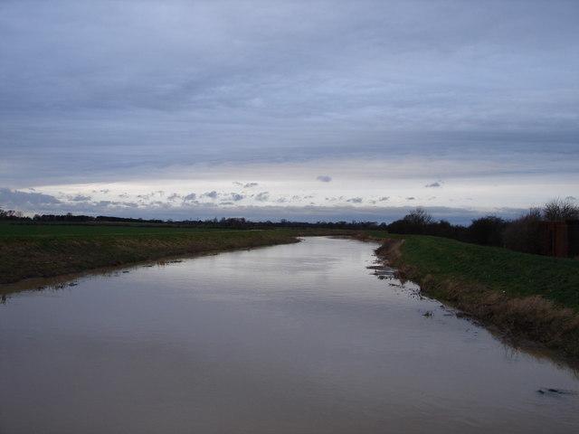 Dusk on the River Till