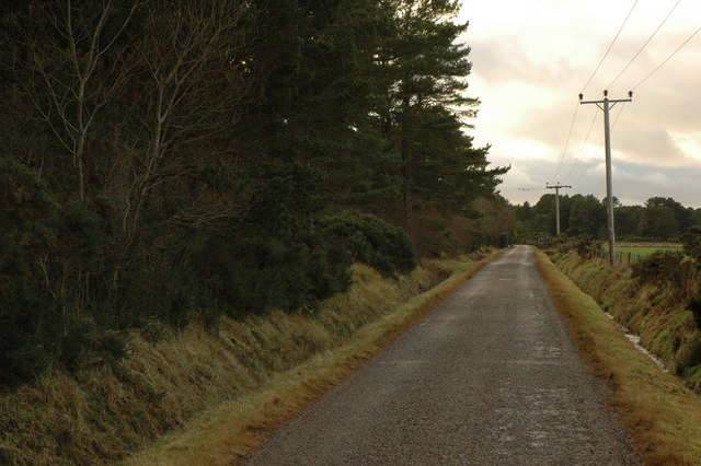 Unclassified road near Muirton