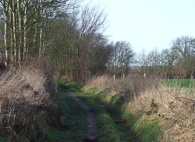 Farmers' Track west of Shareshill, Staffordshire