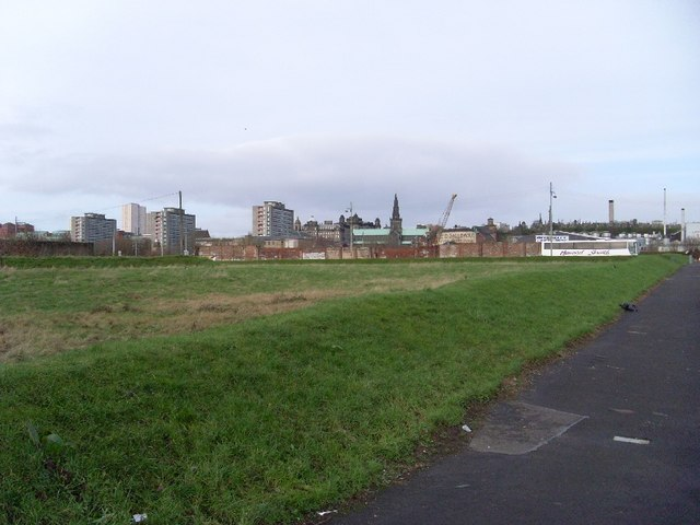 Empty ground by the Gallowgate