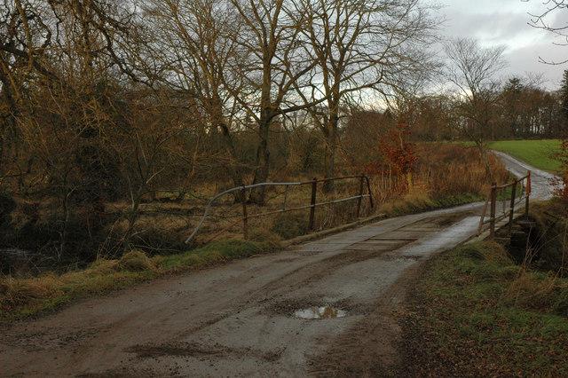 Farm bridge over Newhall Burn