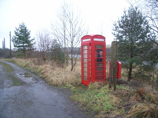 Outside derelict bar on A713